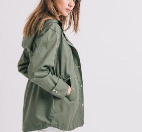Manteau kaki femme : la grande mode de la parka est bien là